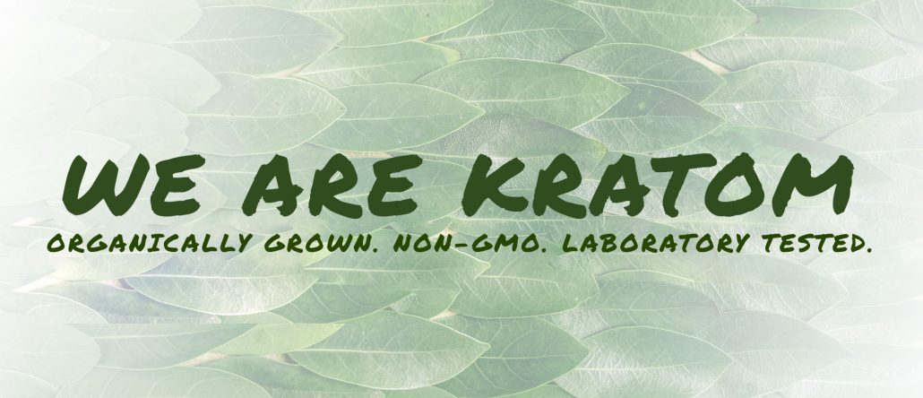 We Are Kratom